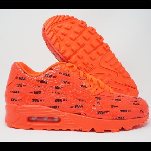 premium selection c0e32 aeeaf Nike Air Max 90 Premium Mens Running Shoes Crimson NWT